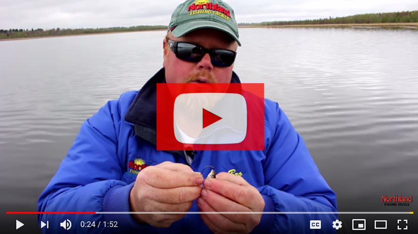 How To Hook A Long Shank Fire-Ball Jig
