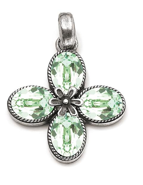 Mint Green Meadow Beauty Pendant (EN1799)