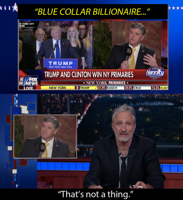 Jon Stewart returned — showing us what we've missed this election.