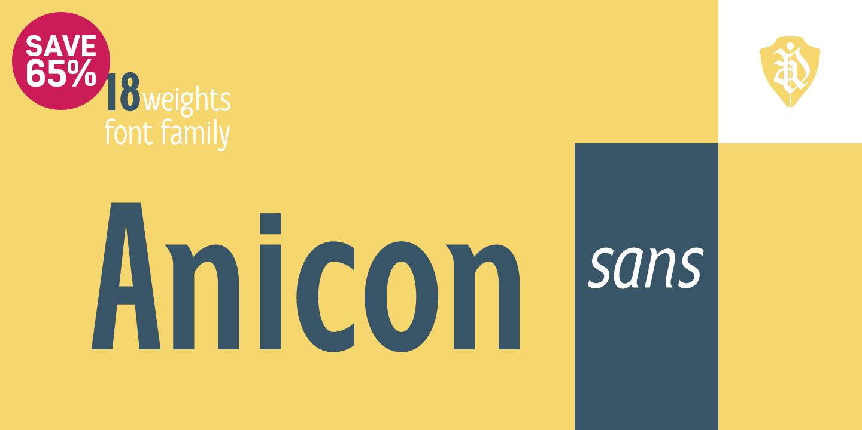 Anicon Sans