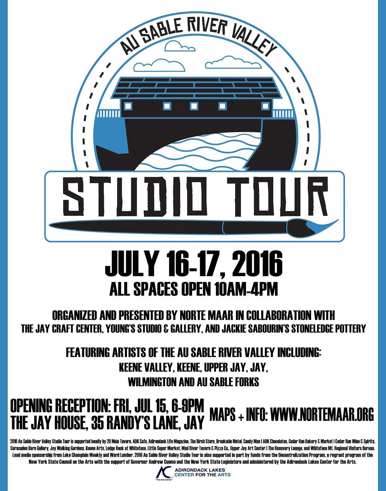 Norte Maar, Au Sable River Valley Studio Tour, Keene Valley, Keene, Upper Jay, Jay, Wilmington, Au Sable Forks, Adirondack