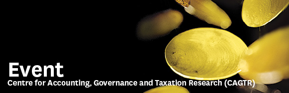 Victoria Business School Event - Centre for Accounting, Governance and Taxation Research