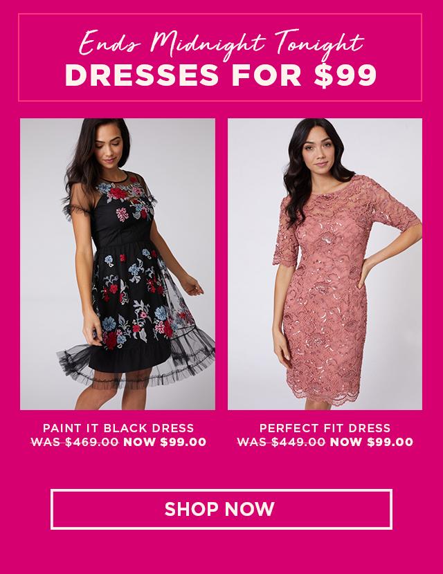 dresses $99
